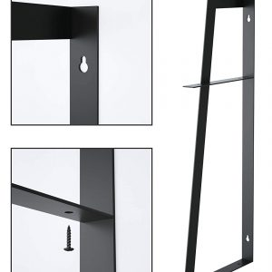 2-Tier Floating Wall Mount Shelves for Bedroom,