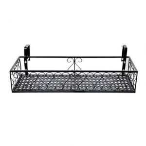 Hanging Baskets Flower Pot Plant Stand for Railing