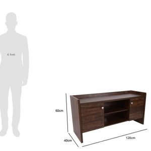 Home Entertainment two storage cabinets