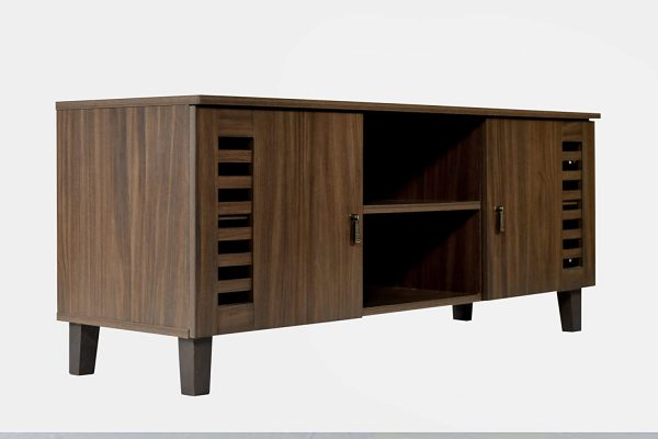 TV Stand and Home Entertainment Unit with two storage cabinets