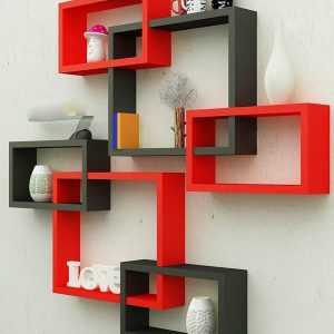 wall mounted bookcase storage display