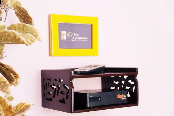 Stylish Wooden Top Box Stand