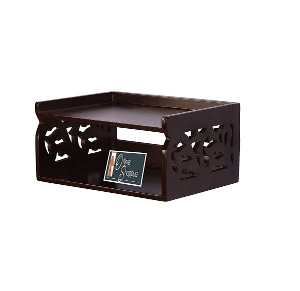 Wall Mounted Wooden Top Box Stand