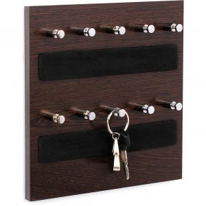 Wall Mounted Home Décor Key Chain Holder - Key Hooks- W10