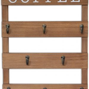 Wall Mounted Cup Organizer with 8 Hooks4