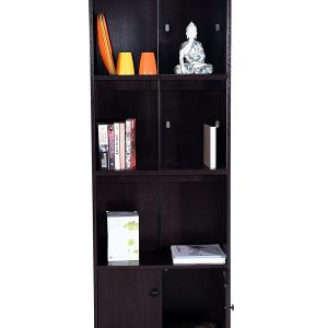 Wenge color Wooden Book Shelf and Display Rack