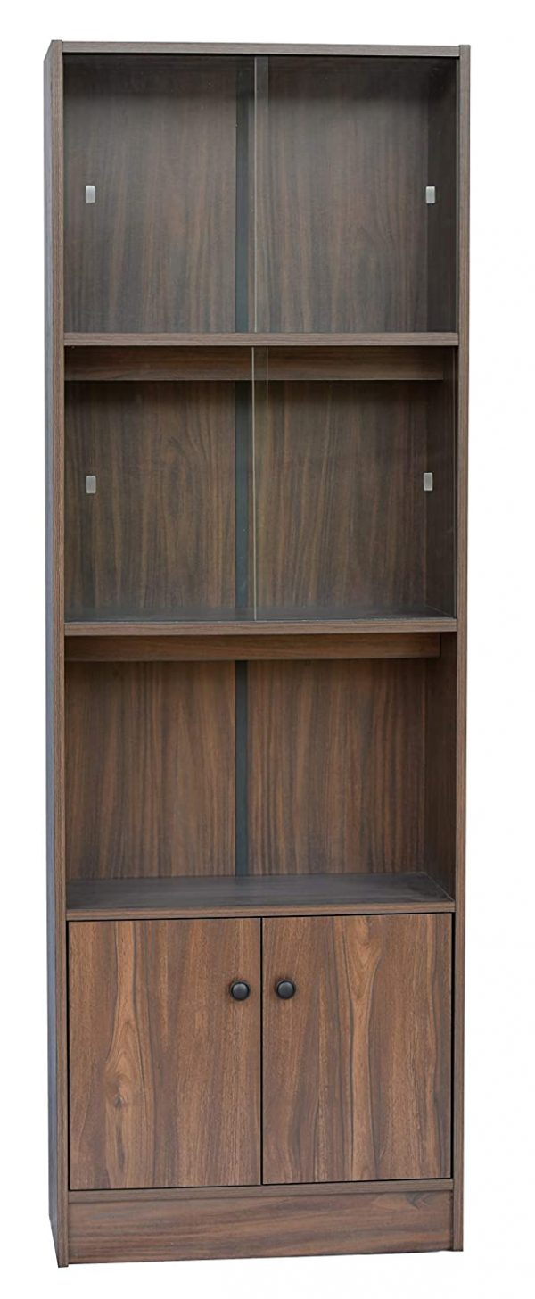 Wooden Book Shelf and Display Unit Walent