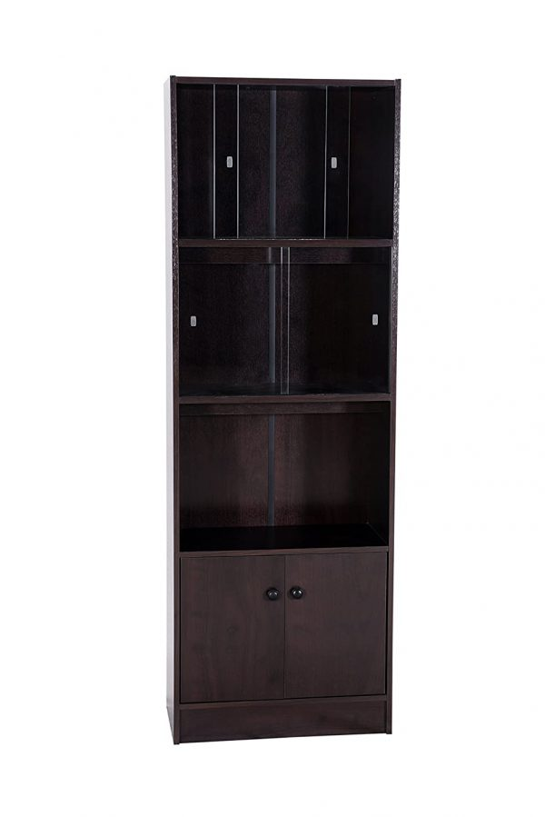 Fashionable Wooden Book Shelf and Display Rack